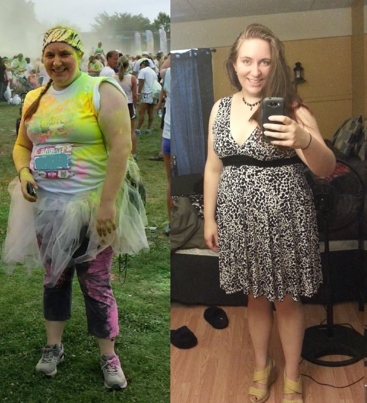 5 feet 6 Female 35 lbs Fat Loss 250 lbs to 215 lbs