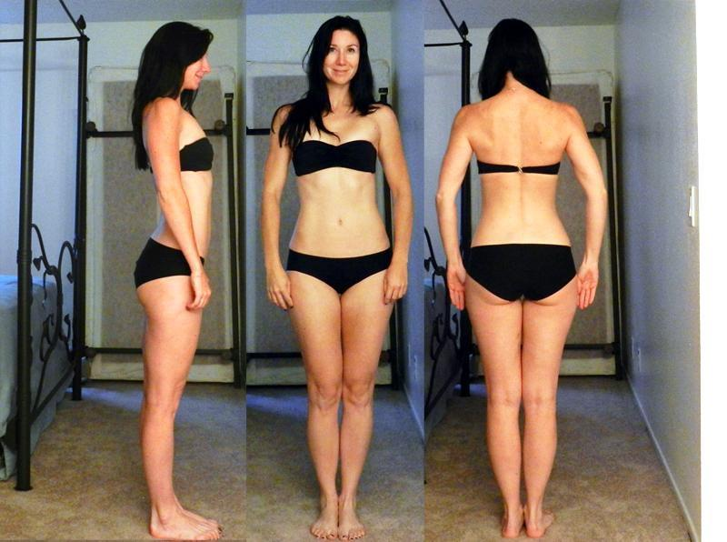 8 Pics of a 127 lbs 5 feet 8 Female Weight Snapshot