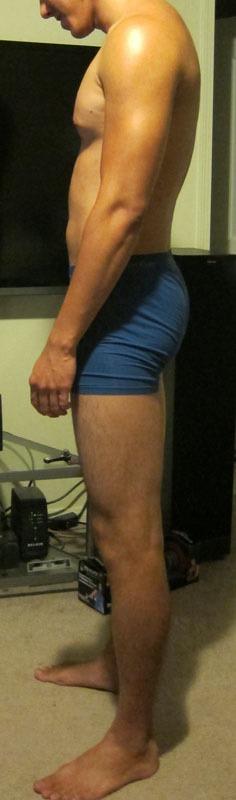 4 Pics of a 6'3 191 lbs Male Fitness Inspo