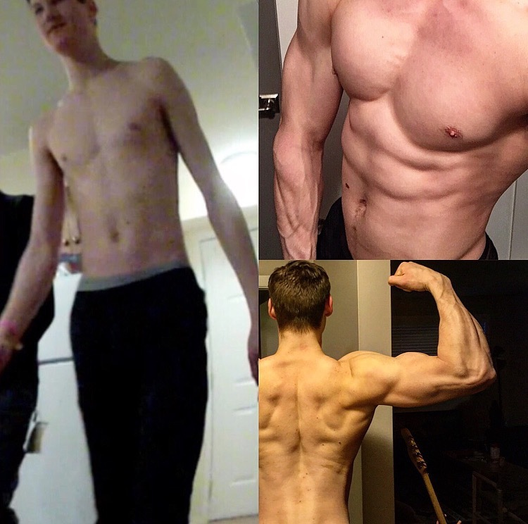 6'4 Male 50 lbs Weight Gain 155 lbs to 205 lbs