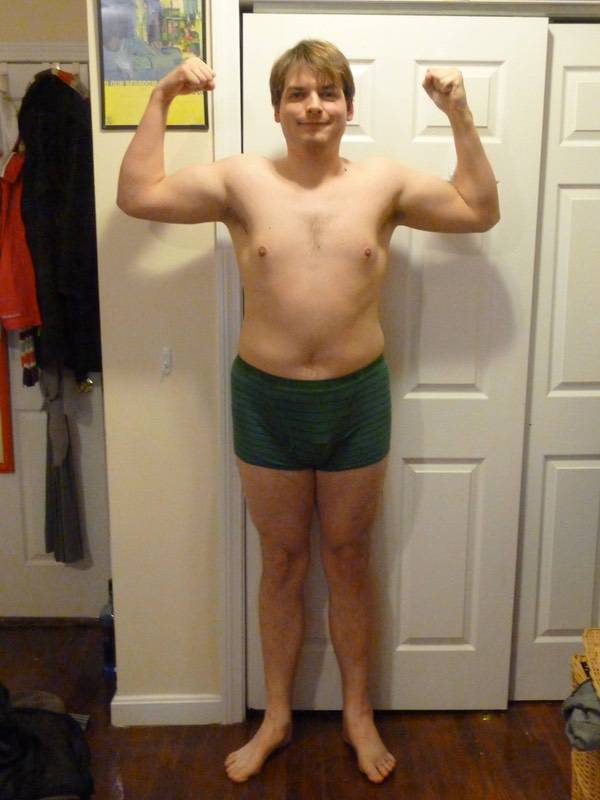 55 lbs Weight Loss Before and After 6 foot 3 Male 260 lbs to 205 lbs