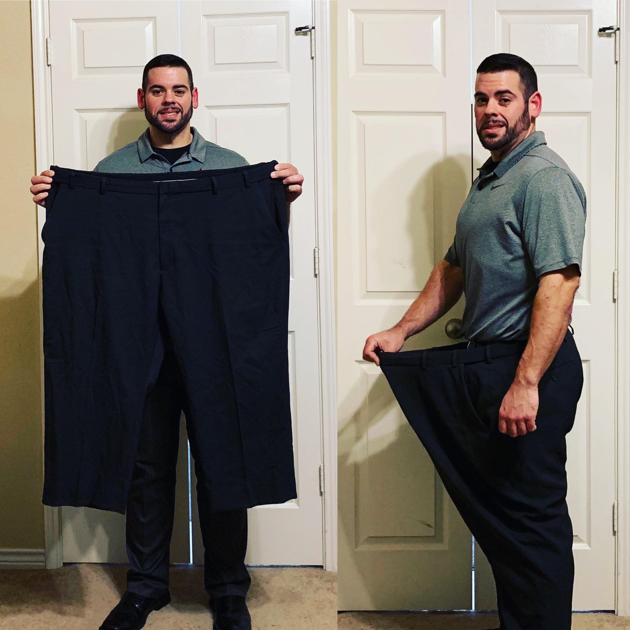 5 foot 10 Male Progress Pics of 191 lbs Fat Loss 405 lbs to 214 lbs