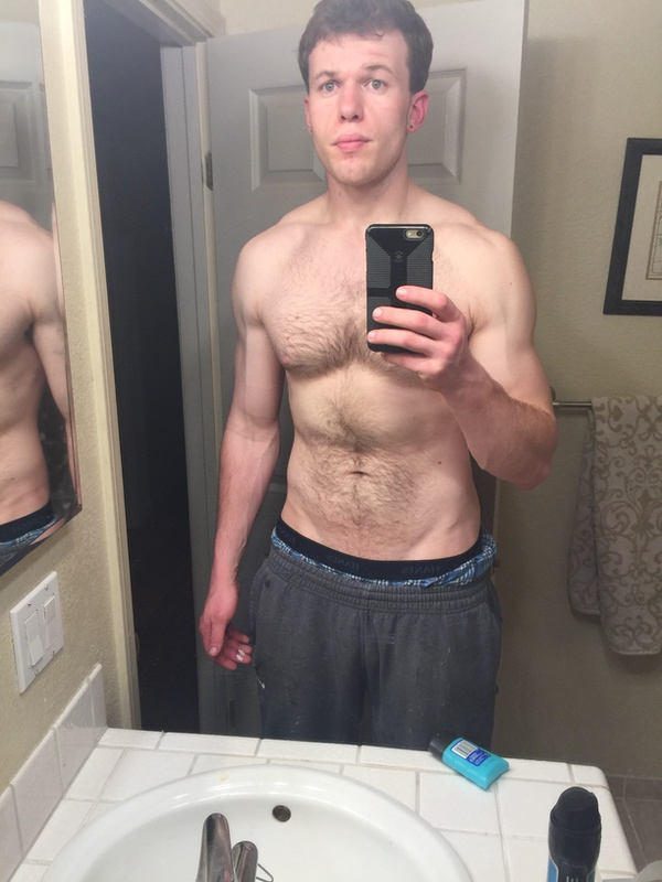 1 Pic of a 6 feet 5 220 lbs Male Weight Snapshot