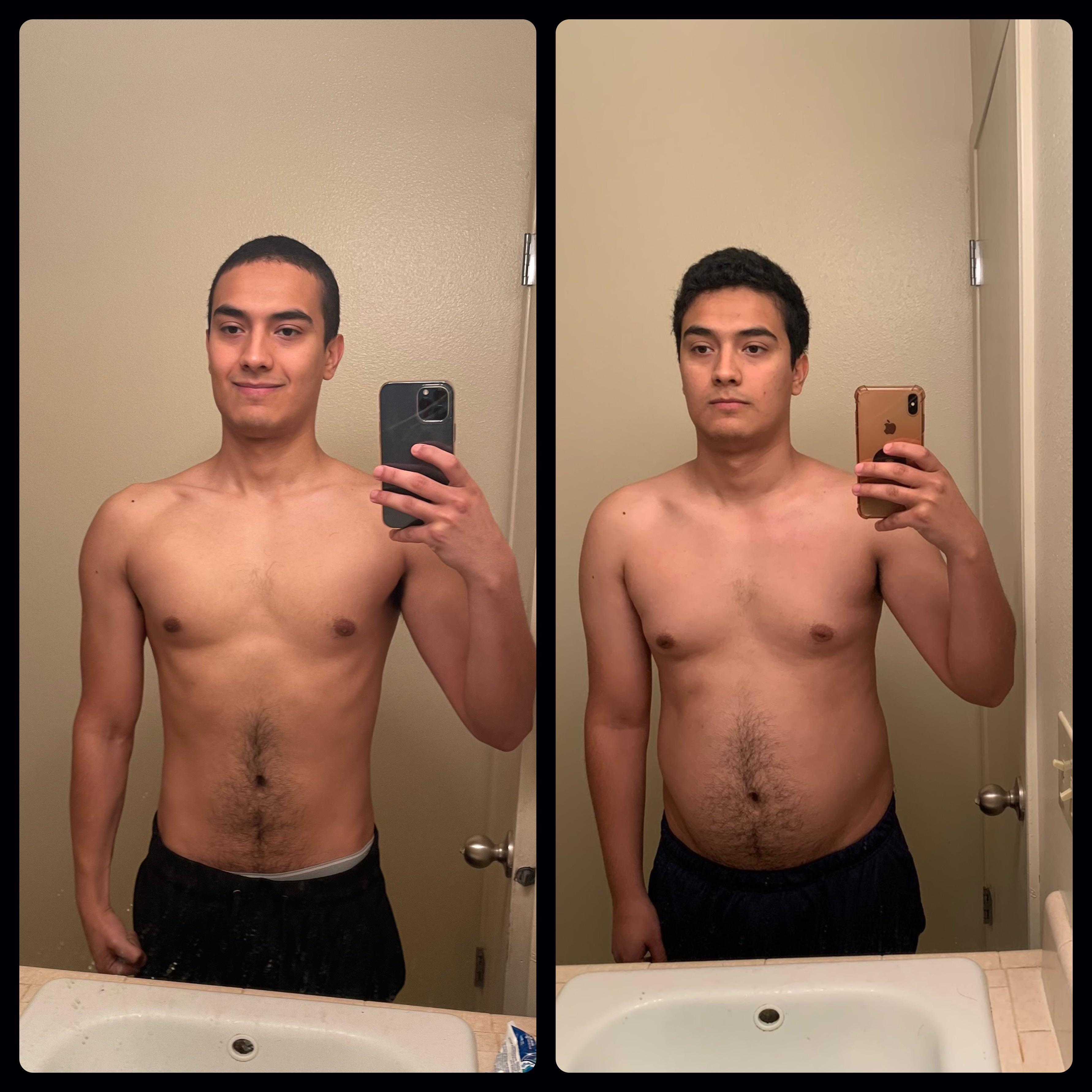 5 foot 10 Male Progress Pics of 20 lbs Weight Loss 185 lbs to 165 lbs