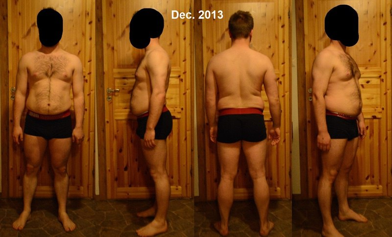 6 Photos of a 62 214 lbs Male Weight Snapshot