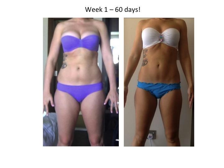 19 lbs Weight Loss 5 feet 10 Female 175 lbs to 156 lbs