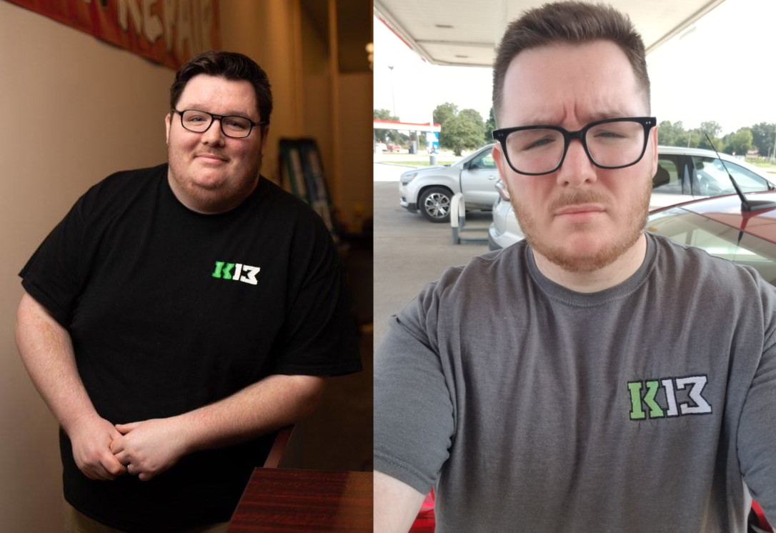 5 foot 9 Male 160 lbs Fat Loss Before and After 400 lbs to 240 lbs