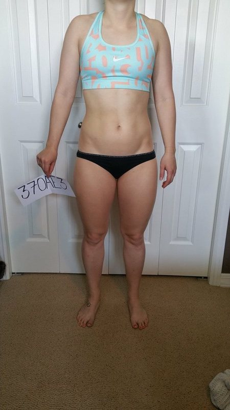 1 Photo of a 5'2 136 lbs Female Fitness Inspo