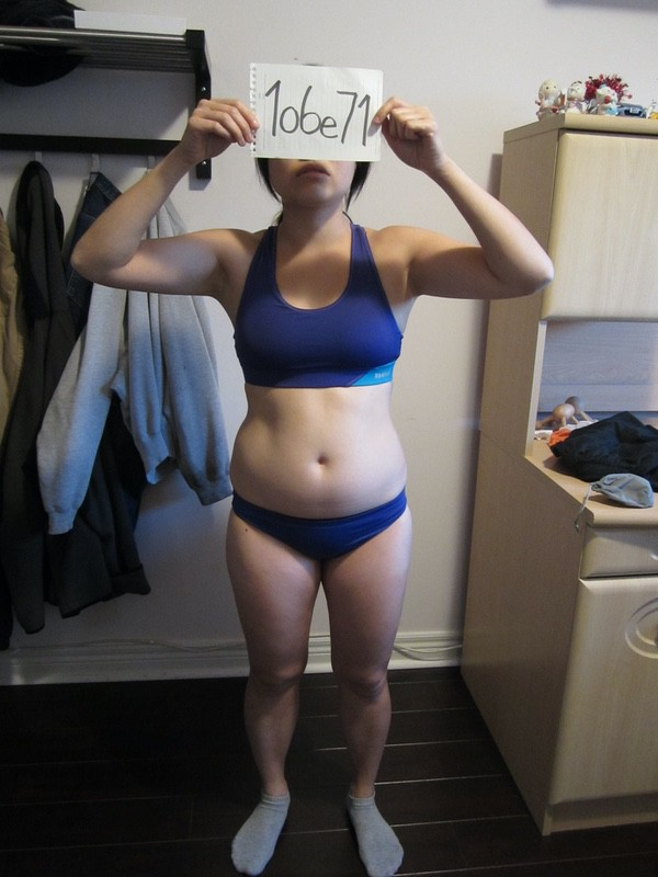 3 Photos of a 4 foot 11 103 lbs Female Fitness Inspo