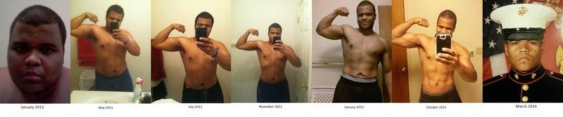 140 lbs Fat Loss 5'9 Male 320 lbs to 180 lbs
