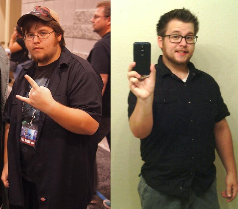 60 lbs Fat Loss 5 foot 6 Male 250 lbs to 190 lbs