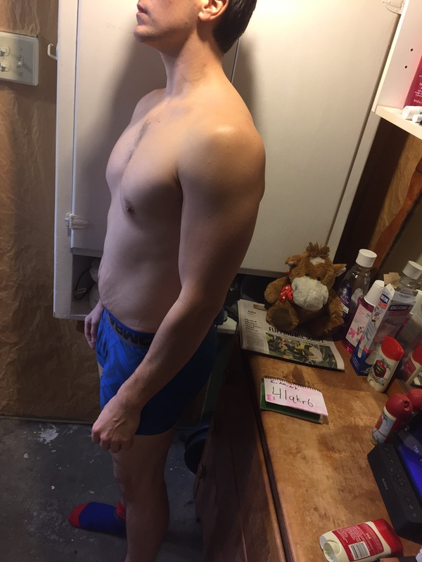 3 Pics of a 5 feet 10 177 lbs Male Fitness Inspo