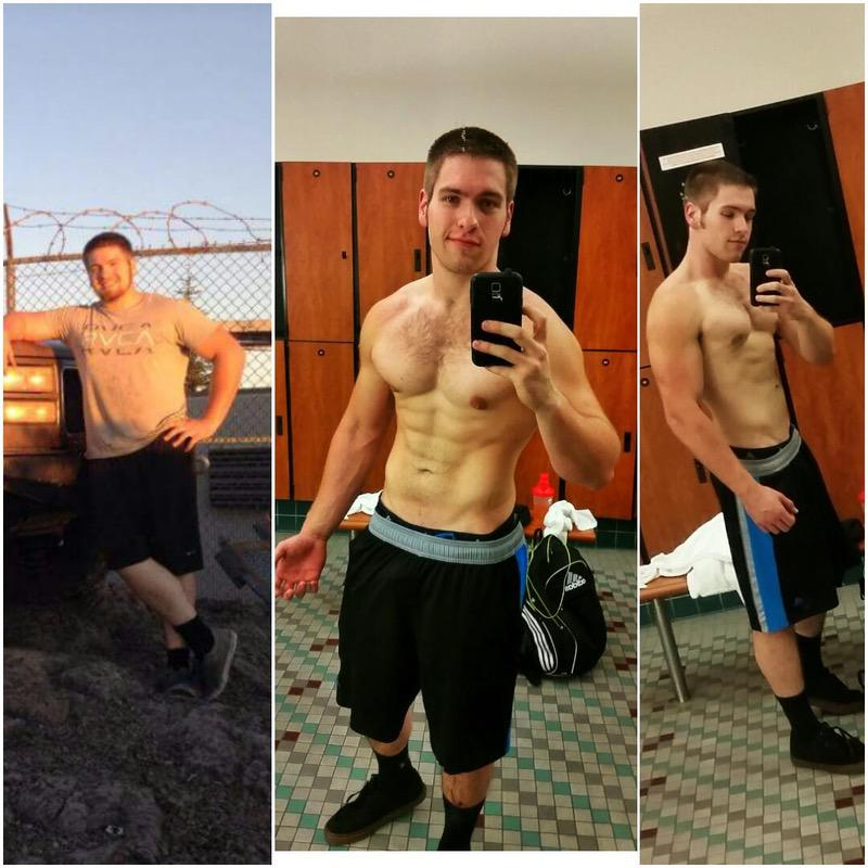 5'10 Male Before and After 60 lbs Fat Loss 230 lbs to 170 lbs