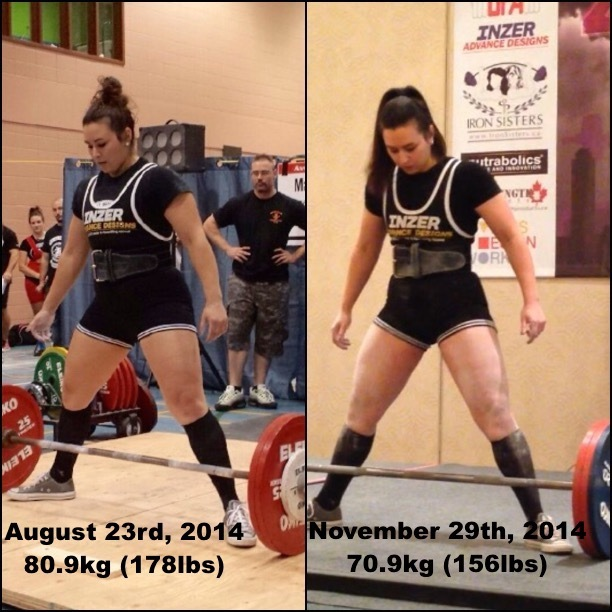 22 lbs Fat Loss 5'4 Female 178 lbs to 156 lbs