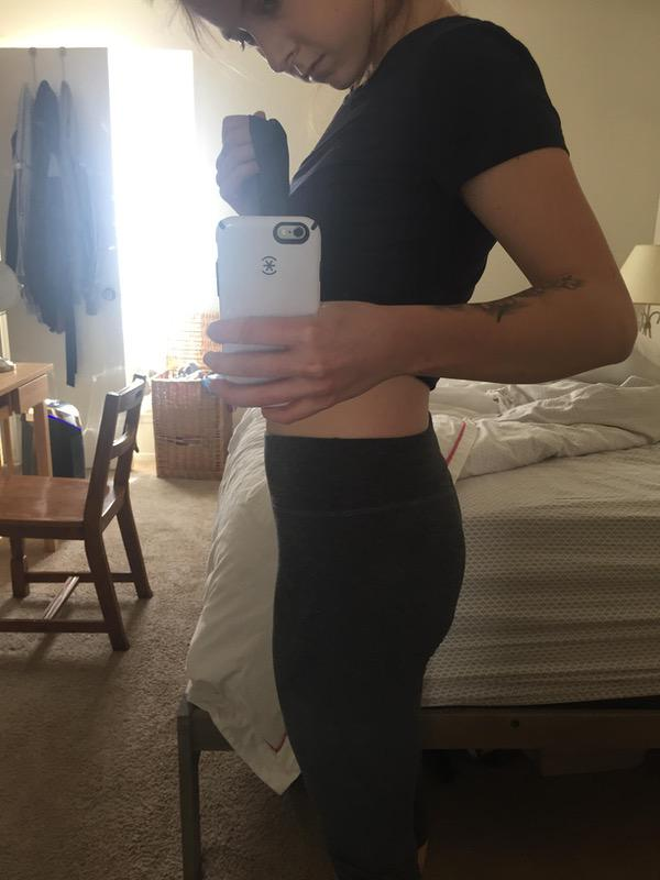 5 foot 6 Female 19 lbs Fat Loss Before and After 148 lbs to 129 lbs