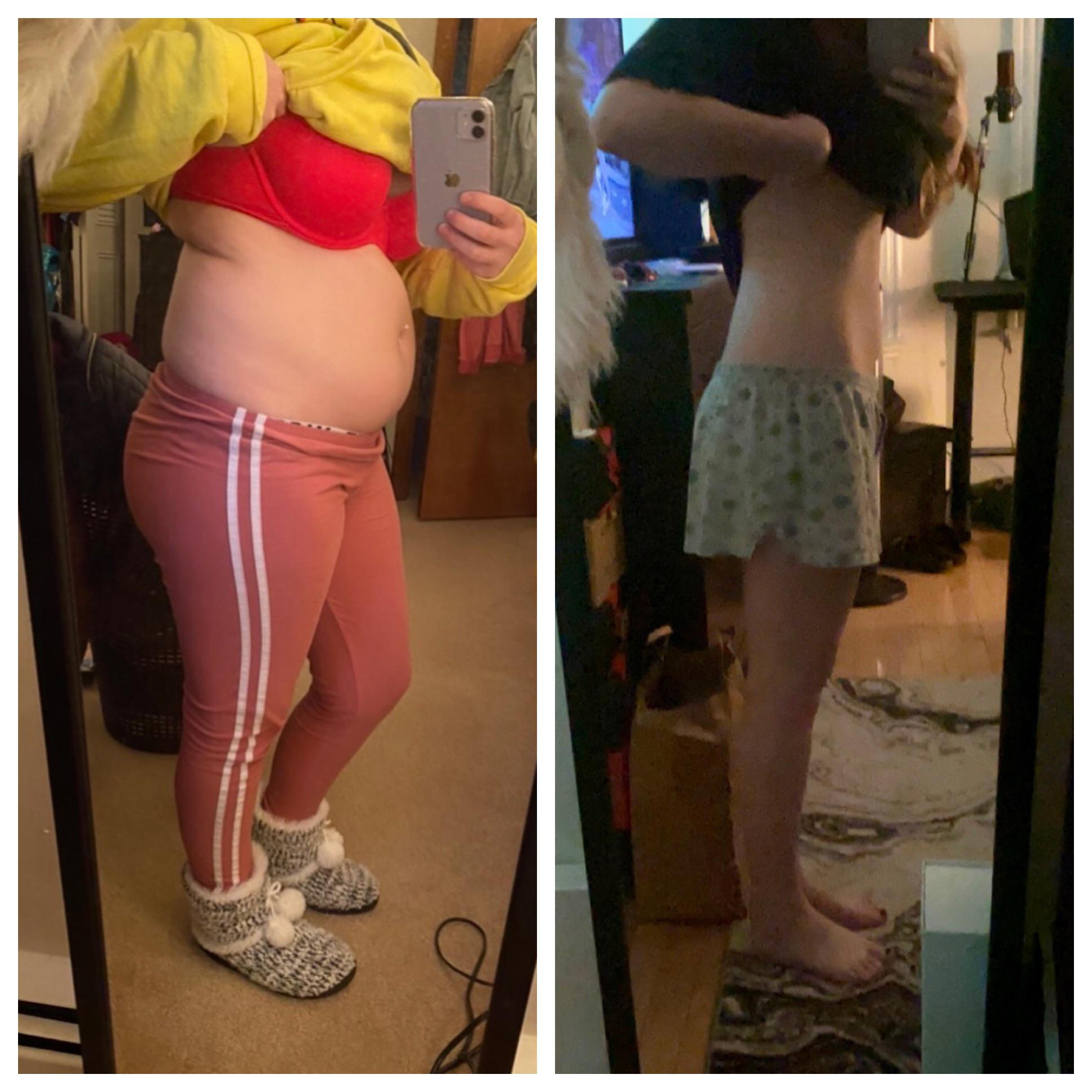 27 lbs Fat Loss 5 foot 1 Female 154 lbs to 127 lbs