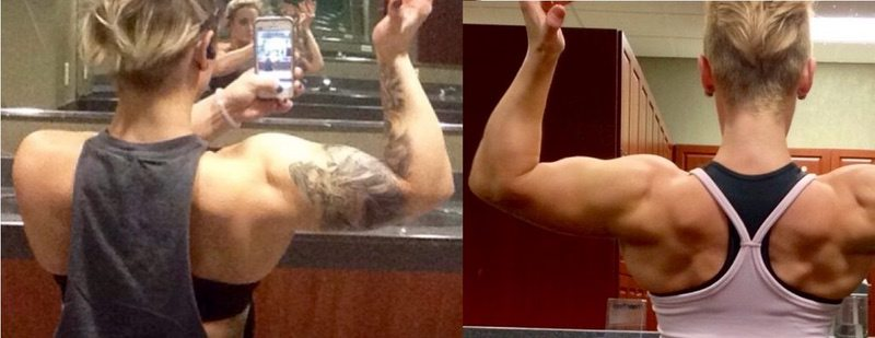 5 foot Female 8 lbs Muscle Gain 133 lbs to 141 lbs