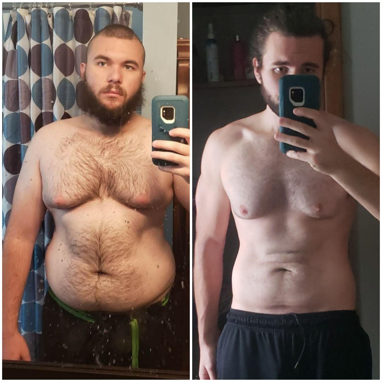 66 lbs Weight Loss 6 foot Male 256 lbs to 190 lbs