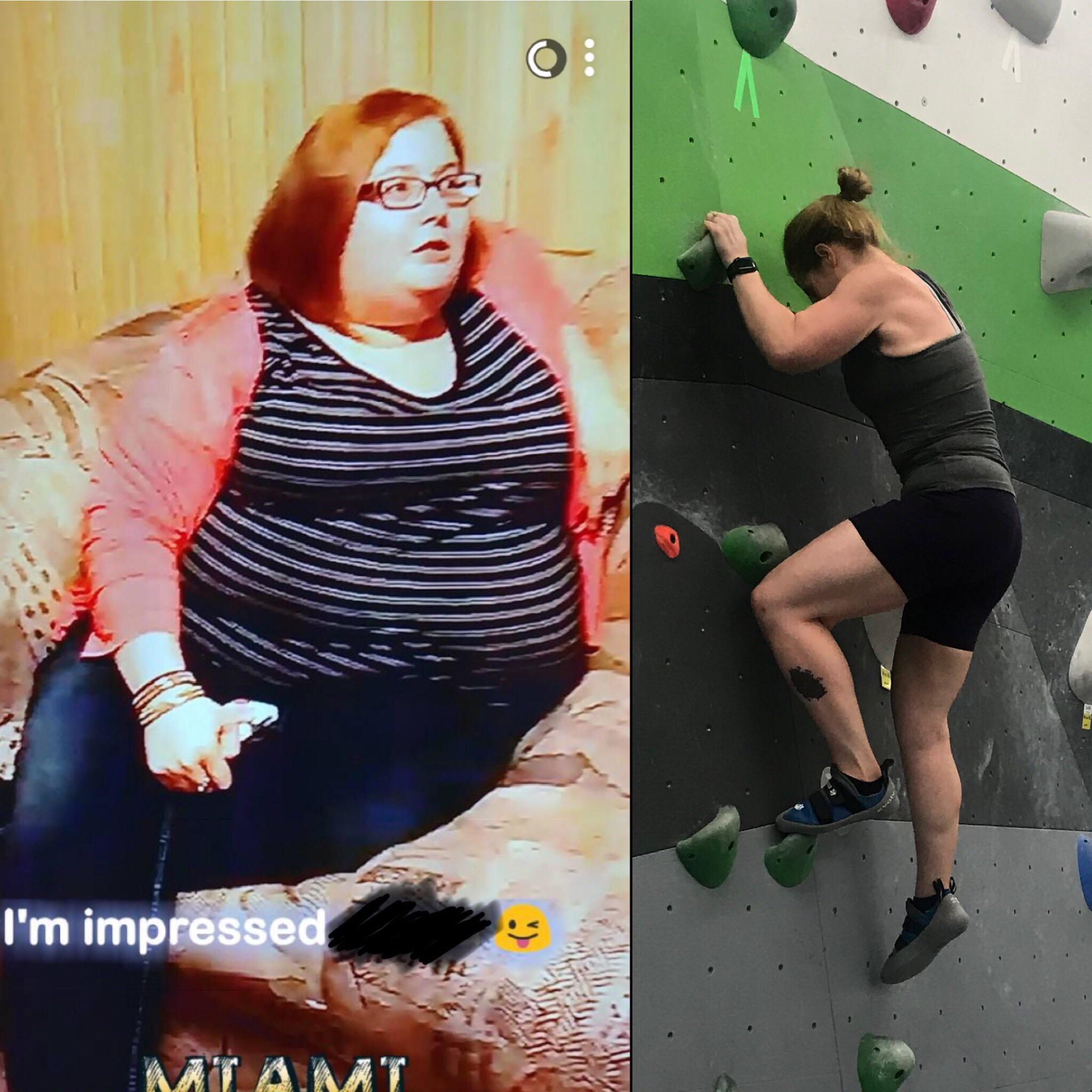 190 lbs Fat Loss 5 foot 3 Female 322 lbs to 132 lbs