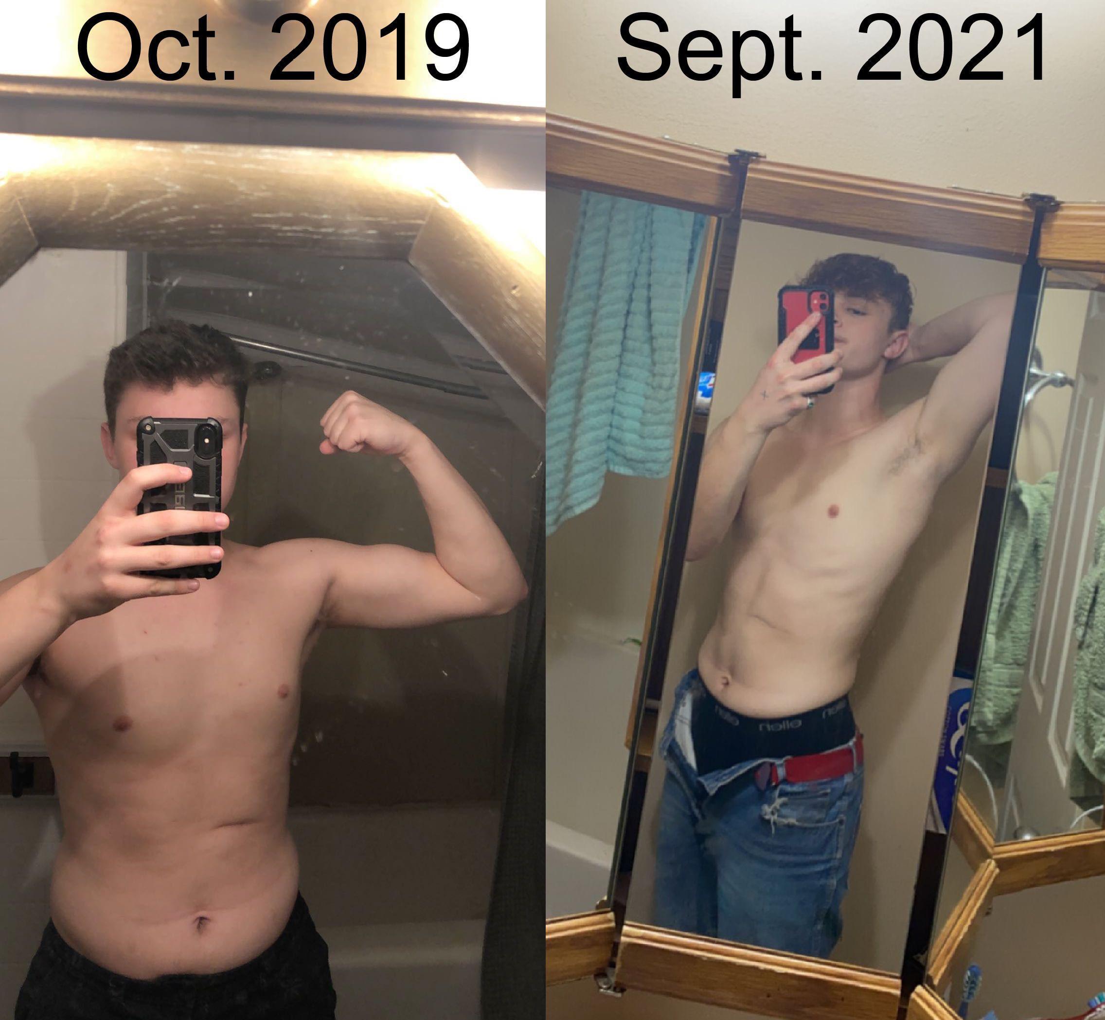 5 feet 10 Male Progress Pics of 60 lbs Weight Loss 225 lbs to 165 lbs