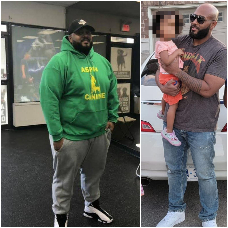 5 foot 11 Male Progress Pics of 121 lbs Weight Loss 351 lbs to 230 lbs