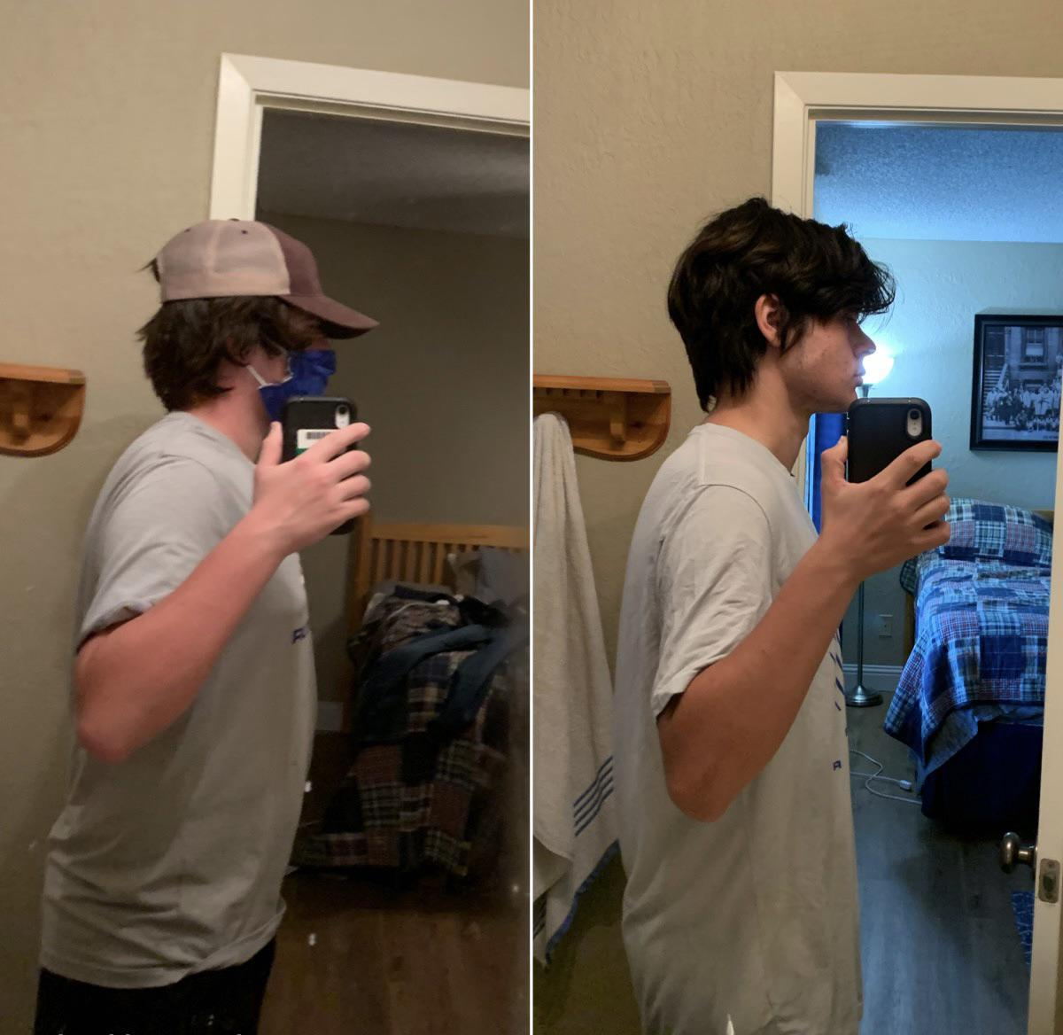 5 foot 11 Male 10 lbs Weight Loss Before and After 190 lbs to 180 lbs