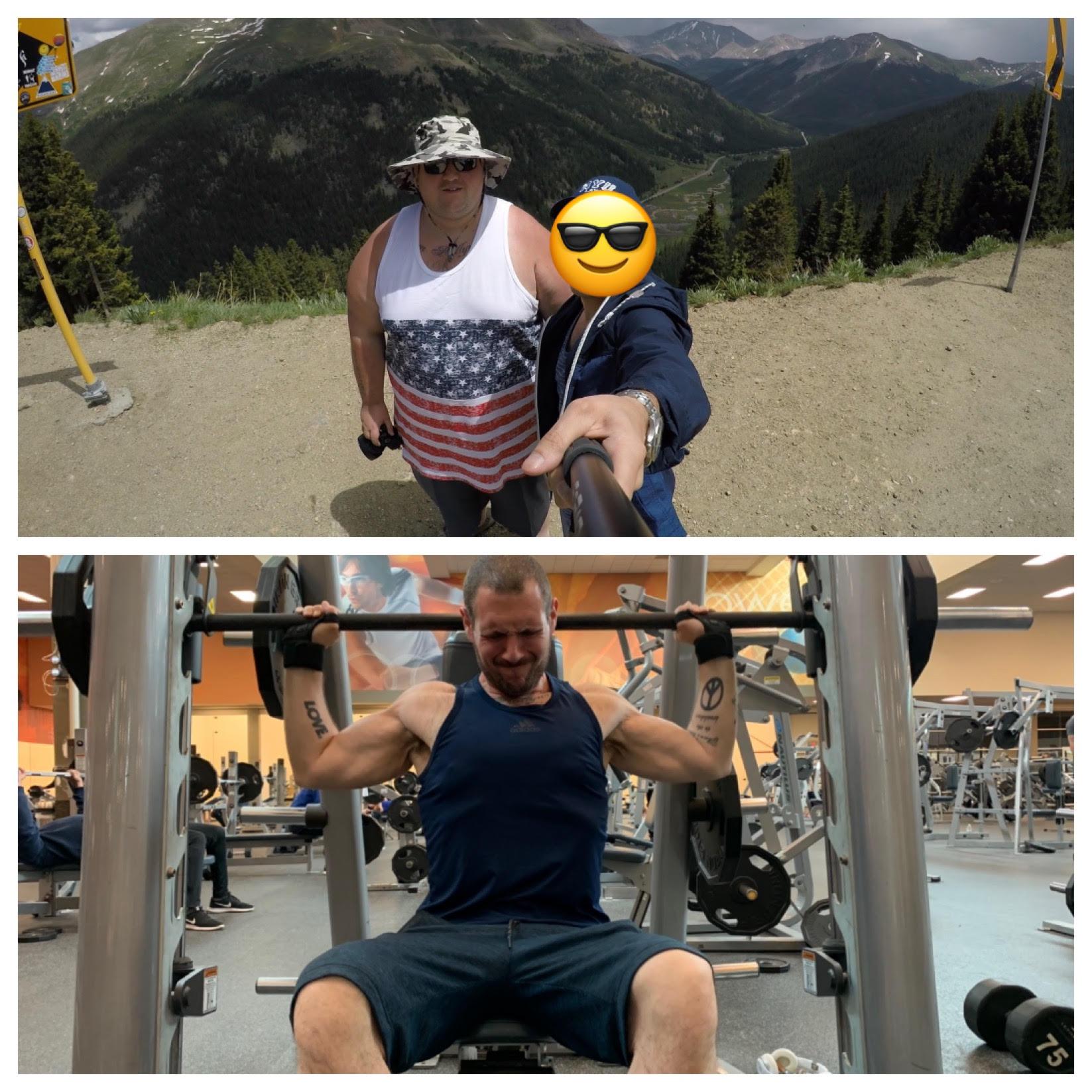 Progress Pics of 180 lbs Fat Loss 5'11 Male 360 lbs to 180 lbs