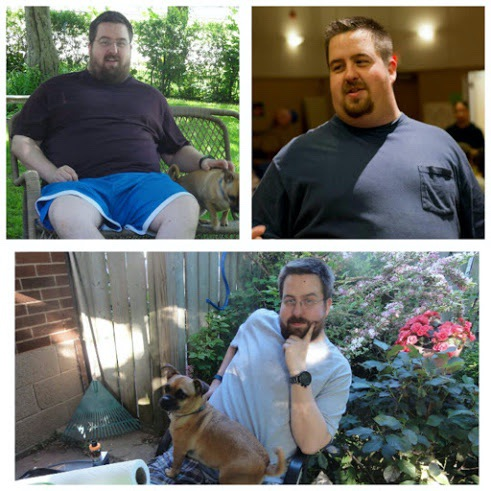 76 lbs Fat Loss Before and After 6 foot 3 Male 366 lbs to 290 lbs