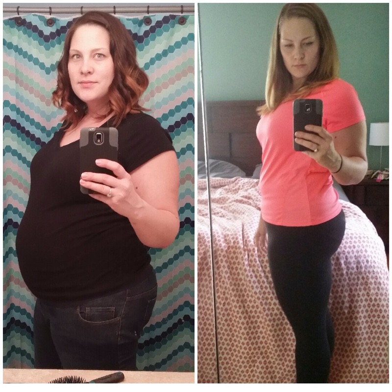 5 foot 10 Female 40 lbs Weight Loss Before and After 250 lbs to 210 lbs
