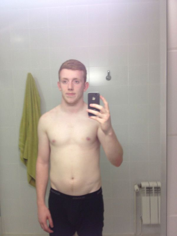 20 lbs Fat Loss Before and After 5'10 Male 175 lbs to 155 lbs