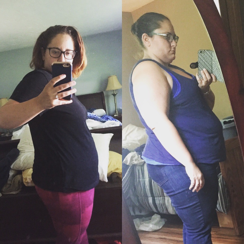 67 lbs Fat Loss Before and After 5'1 Female 255 lbs to 188 lbs