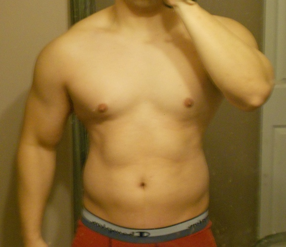 1 Pic of a 5'7 186 lbs Male Weight Snapshot