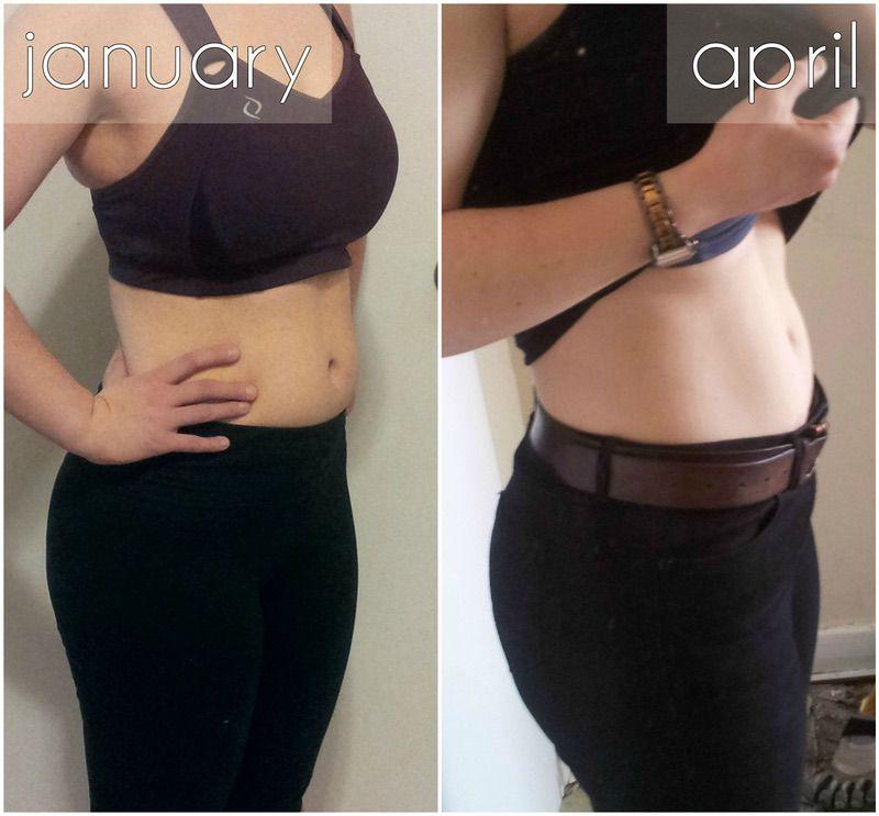 5 foot 2 Female Progress Pics of 11 lbs Fat Loss 150 lbs to 139 lbs
