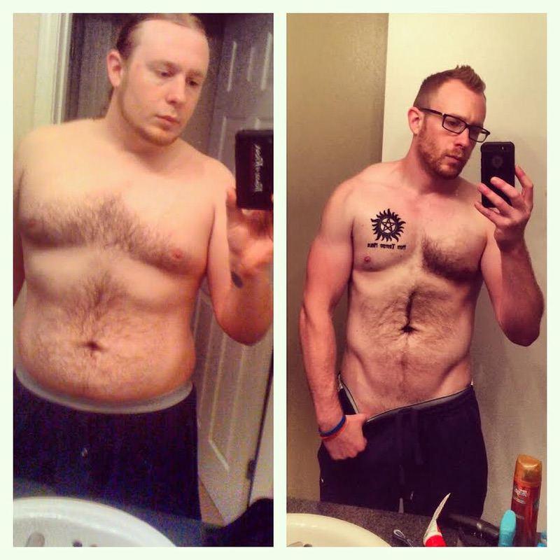6'2 Male Progress Pics of 132 lbs Weight Loss 310 lbs to 178 lbs