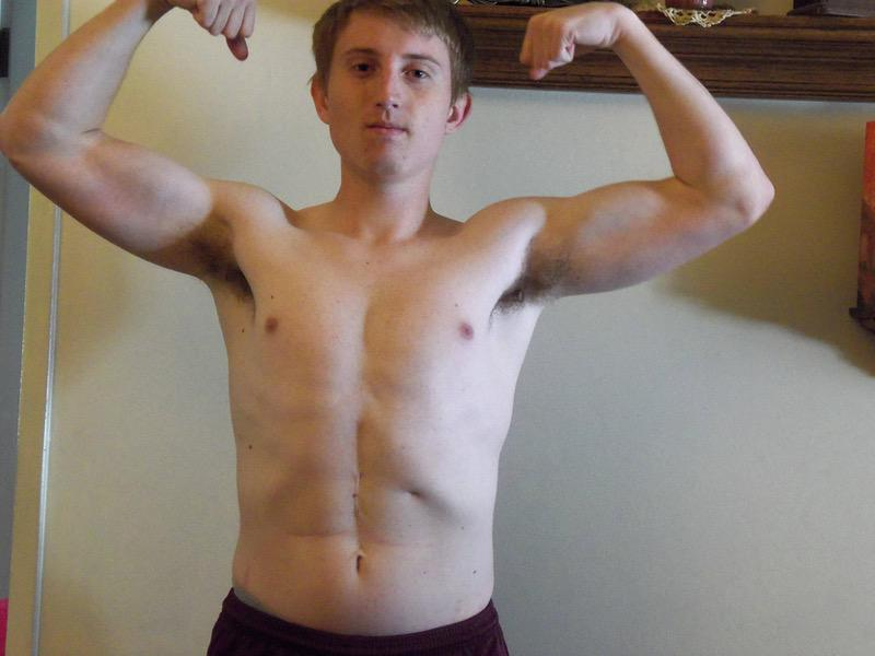 10 Pics of a 5 feet 8 155 lbs Male Weight Snapshot