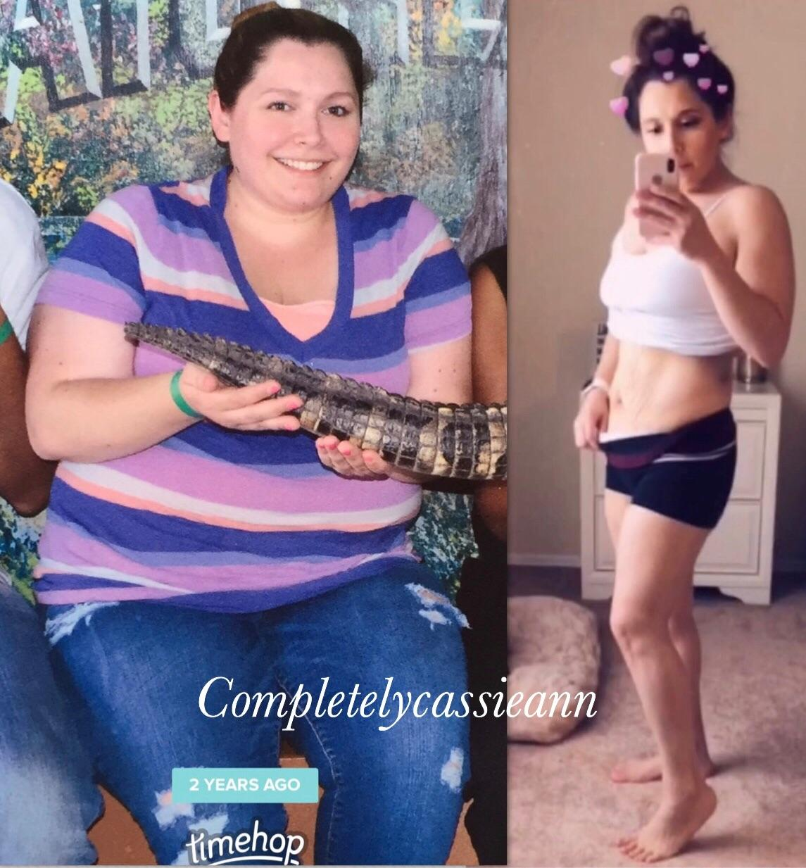 5 foot 1 Female 112 lbs Fat Loss Before and After 252 lbs to 140 lbs