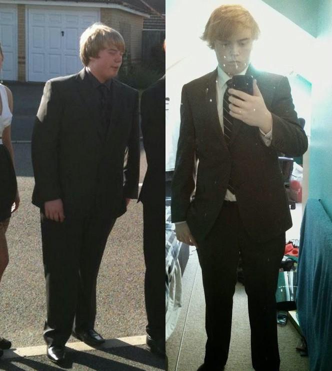 55 lbs Fat Loss 5 feet 10 Male 250 lbs to 195 lbs