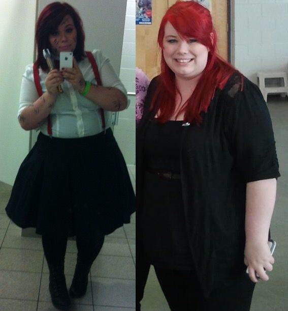 5'2 Female 72 lbs Weight Loss Before and After 277 lbs to 205 lbs