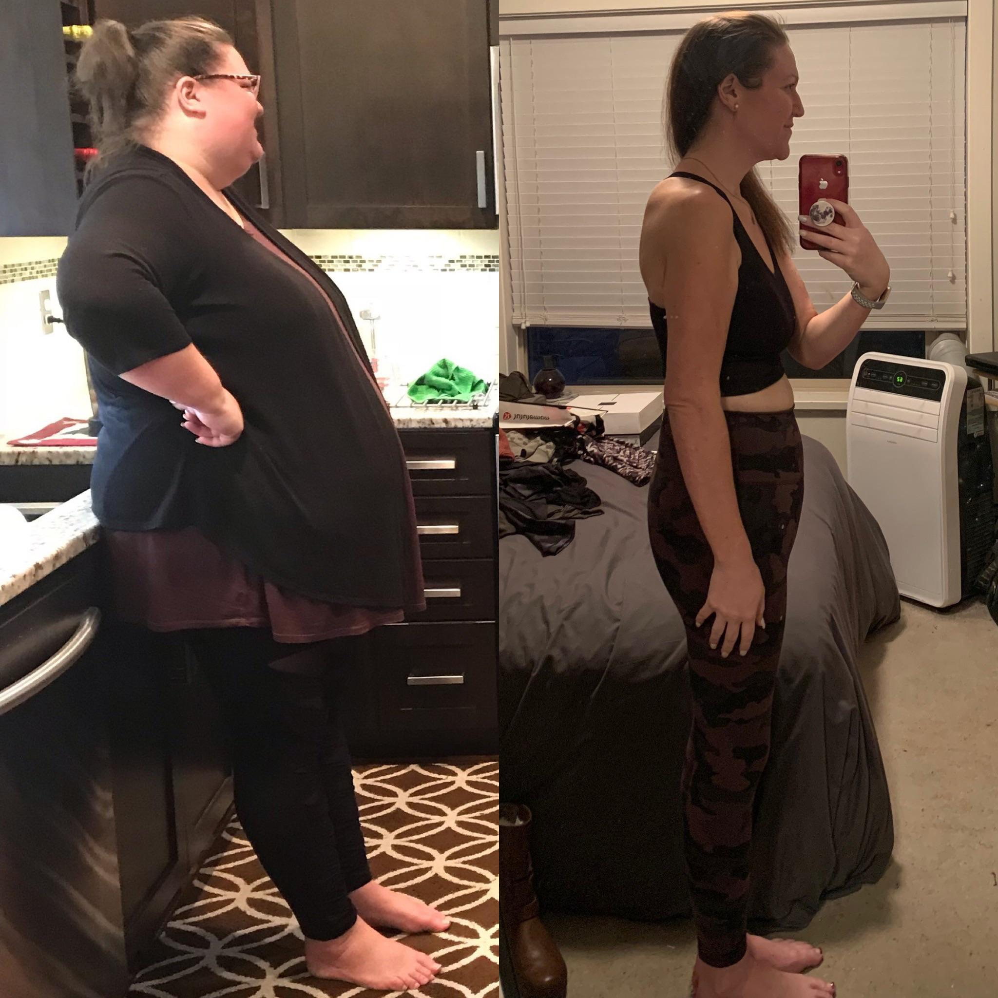 5 foot 9 Female 197 lbs Weight Loss 344 lbs to 147 lbs