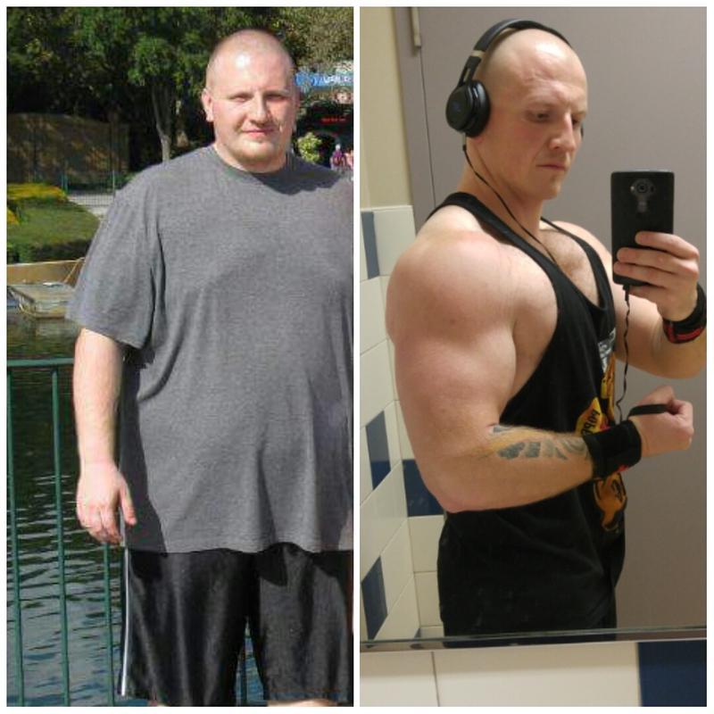5 foot 8 Male 107 lbs Weight Loss 297 lbs to 190 lbs