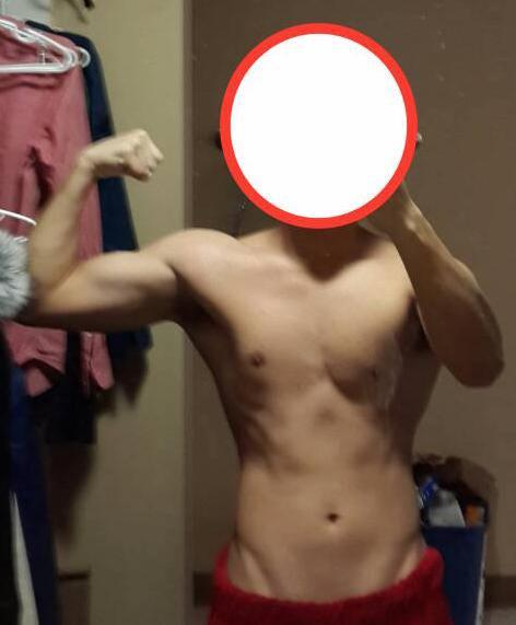 5 foot 8 Male Before and After 3 lbs Weight Gain 147 lbs to 150 lbs