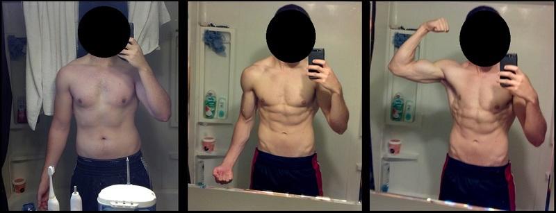 5 foot 8 Male 30 lbs Fat Loss 165 lbs to 135 lbs