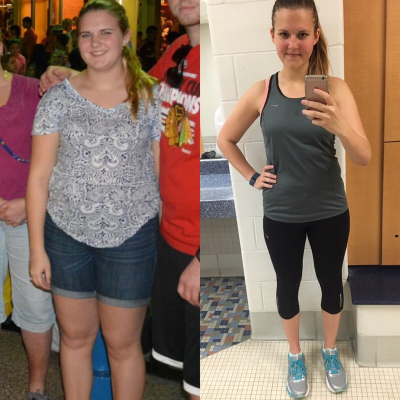 5'10 Female 40 lbs Fat Loss Before and After 200 lbs to 160 lbs