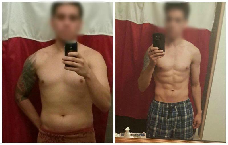 Mann 60 kg 170 cm BMI