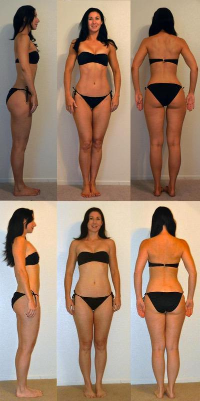5 Pics of a 127 lbs 5 foot 8 Female Weight Snapshot