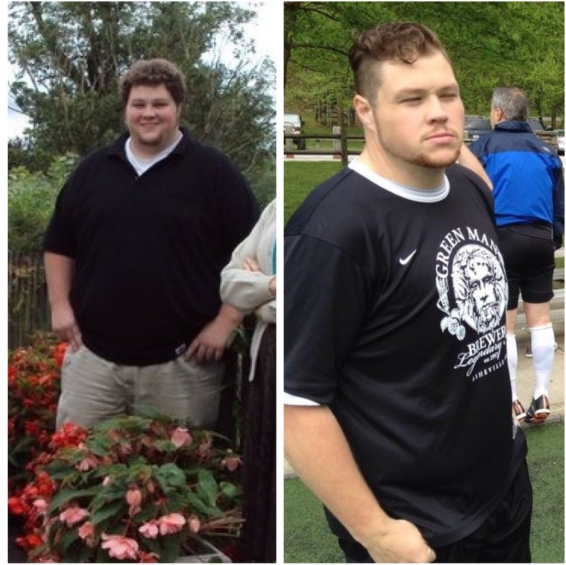 5'10 Male 145 lbs Weight Loss Before and After 375 lbs to 230 lbs
