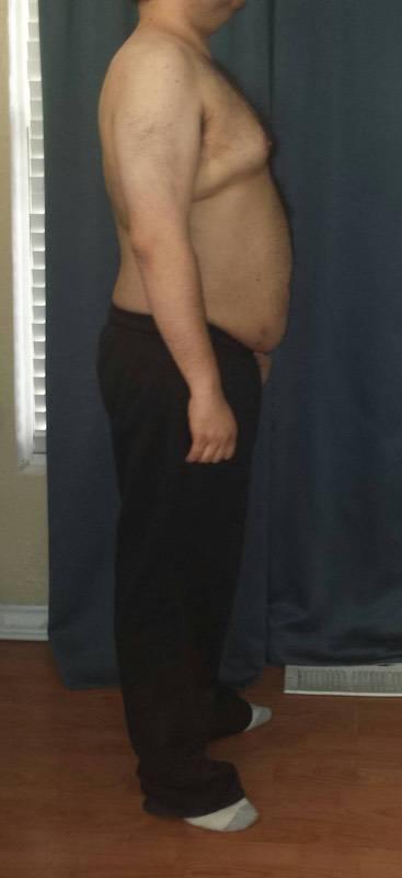 5'7 Male Progress Pics of 73 lbs Weight Loss 248 lbs to 175 lbs