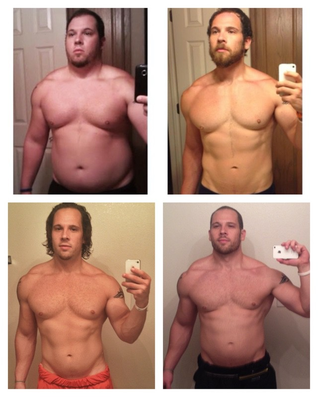 5'7 Male Before and After 100 lbs Fat Loss 275 lbs to 175 lbs