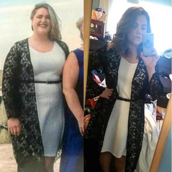 5 feet 4 Female 55 lbs Weight Loss 235 lbs to 180 lbs
