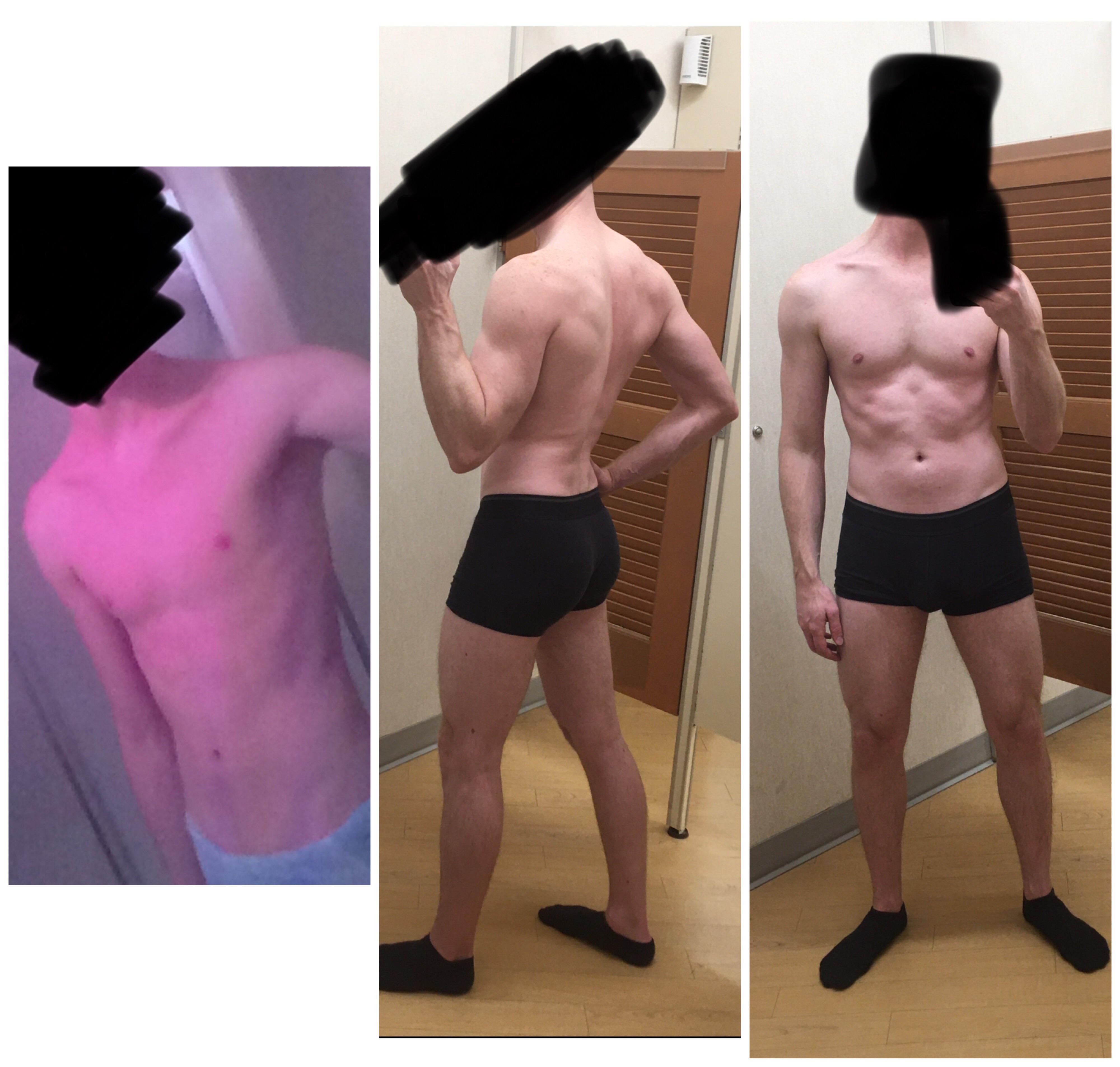 30 lbs Muscle Gain 6 feet 2 Male 155 lbs to 185 lbs